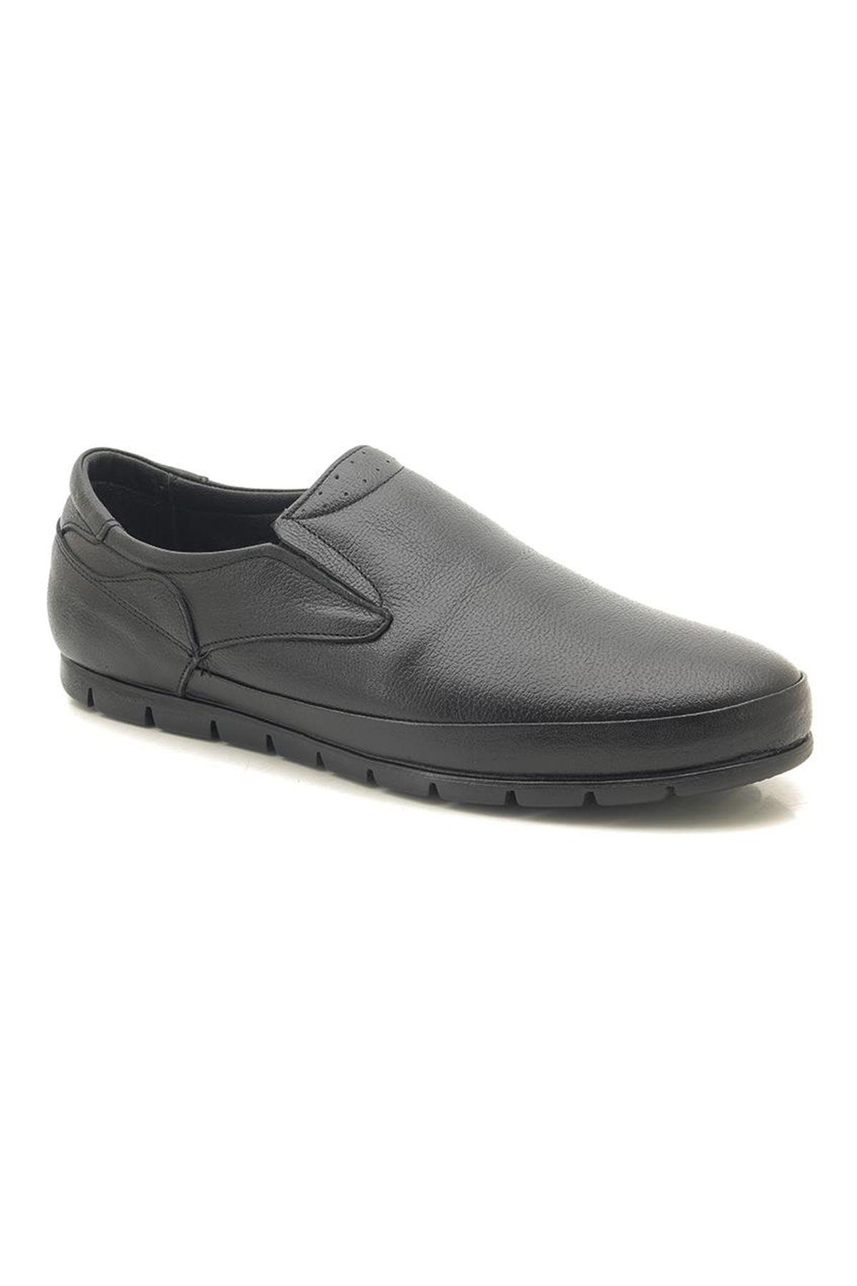 Man Comfort 2033A Hakiki Deri Erkek Günlük Ayakkabı