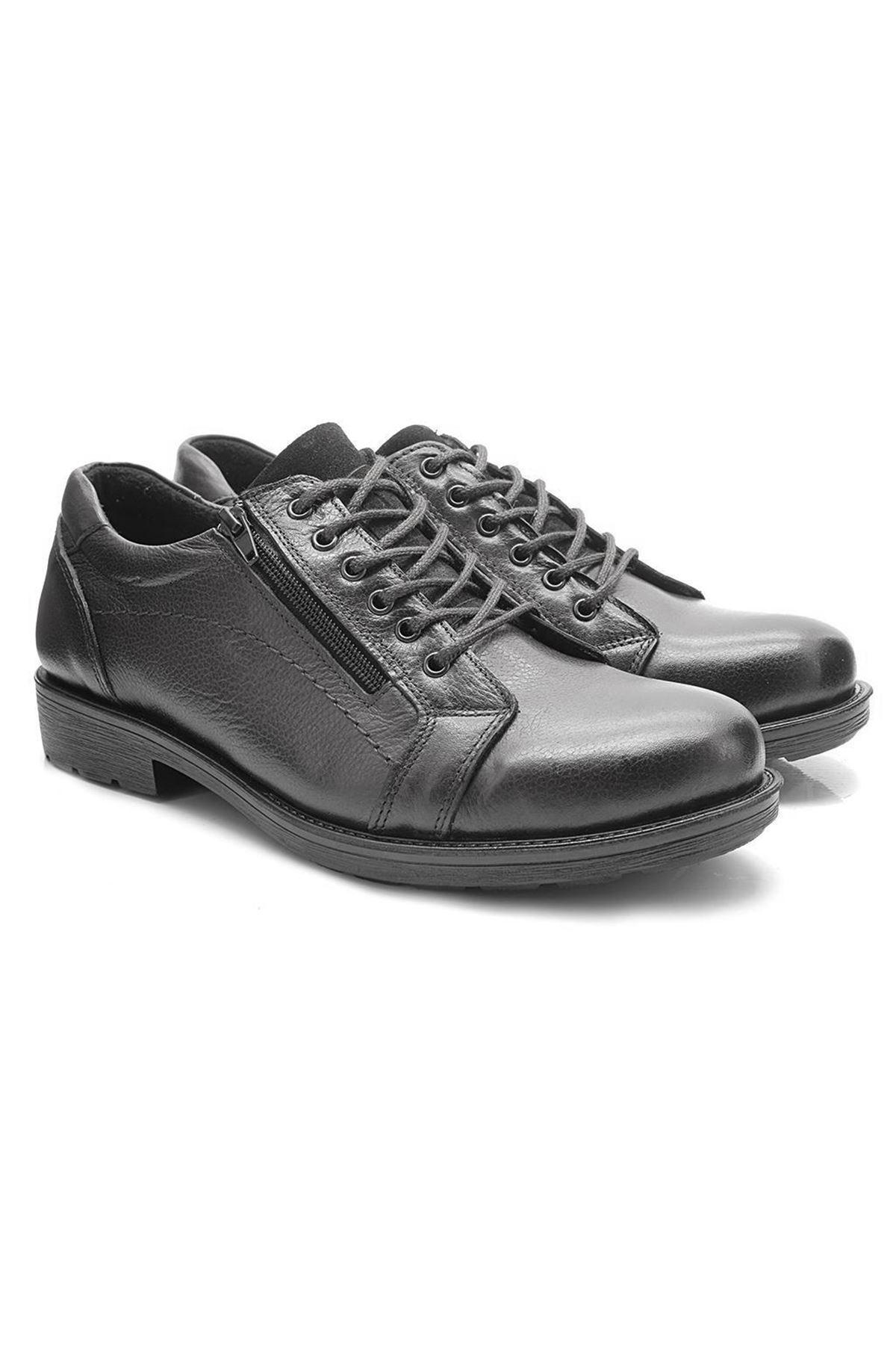 Flies 3300 Siyah Spor Klasik Erkek Ayakkabı