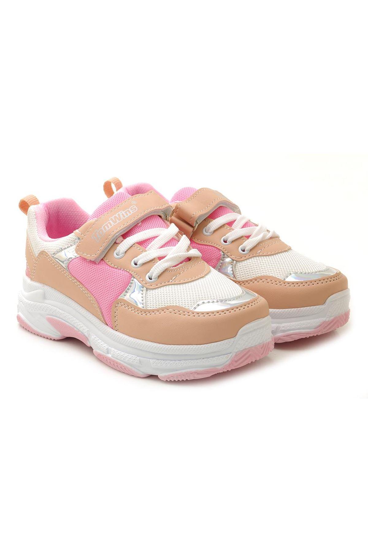 Kids World 012 Yüksek Taban Unisex Çocuk Spor Ayakkabı