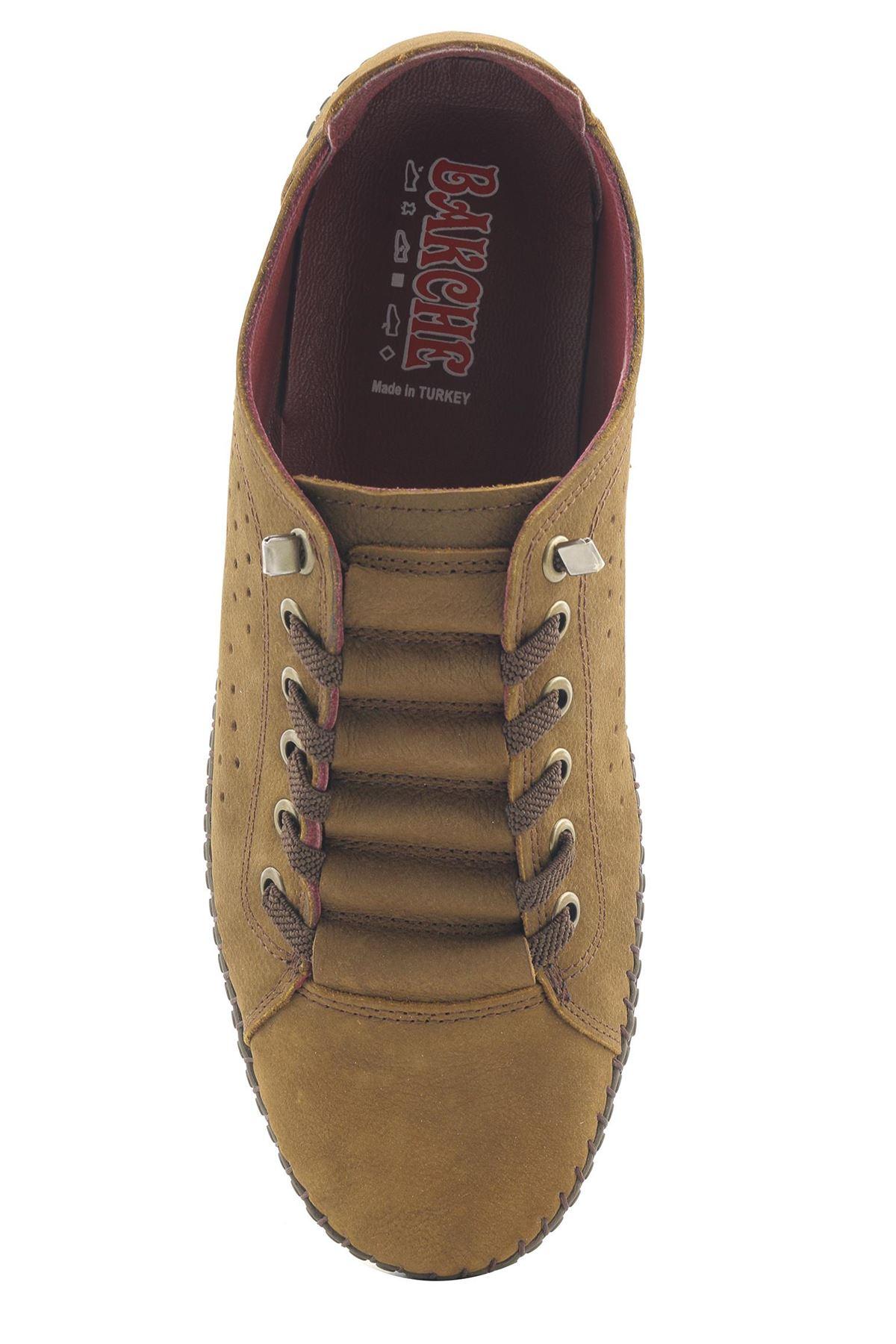 Bakche M5522 Hakiki Deri Comfort Günlük Ayakkabı