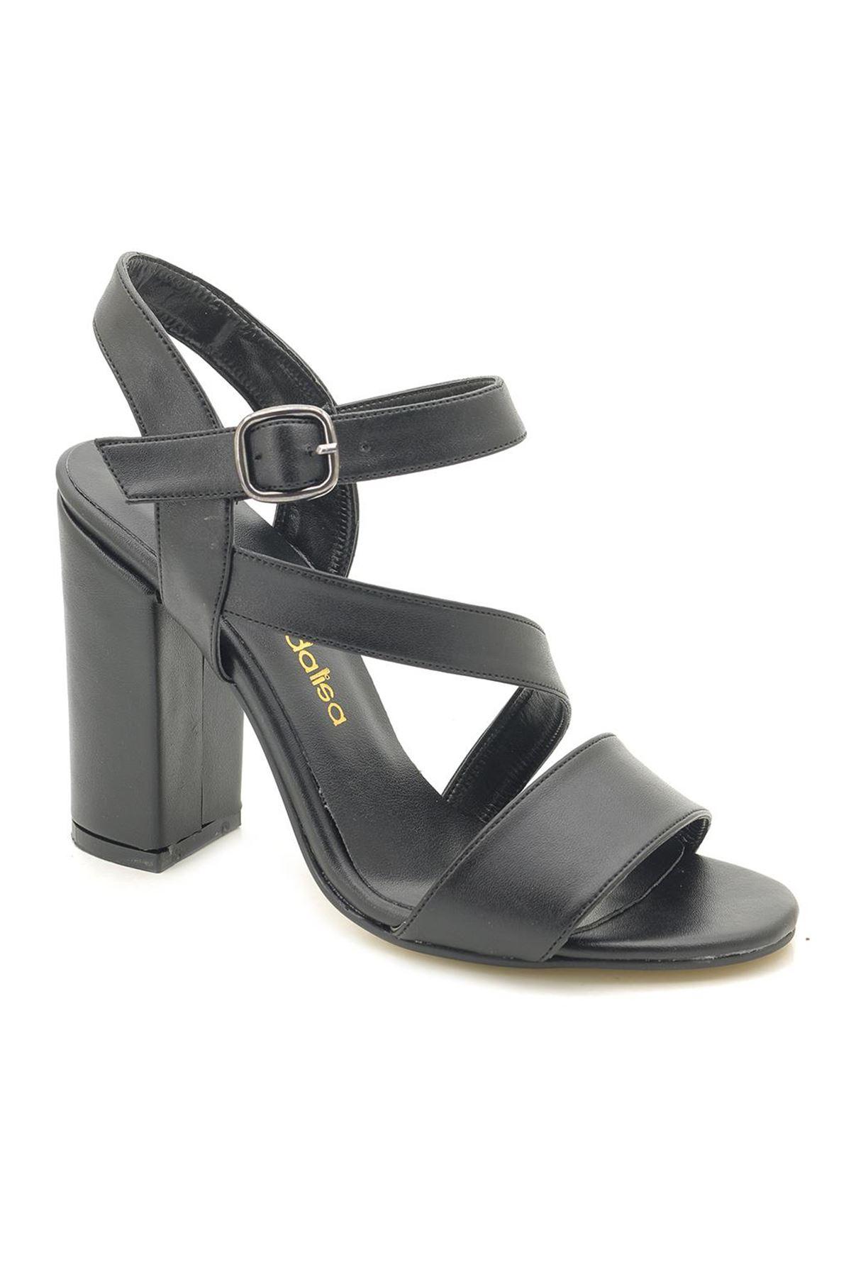 ModaLisa 545 Topuklu Yandan Bantlı Ayakkabı