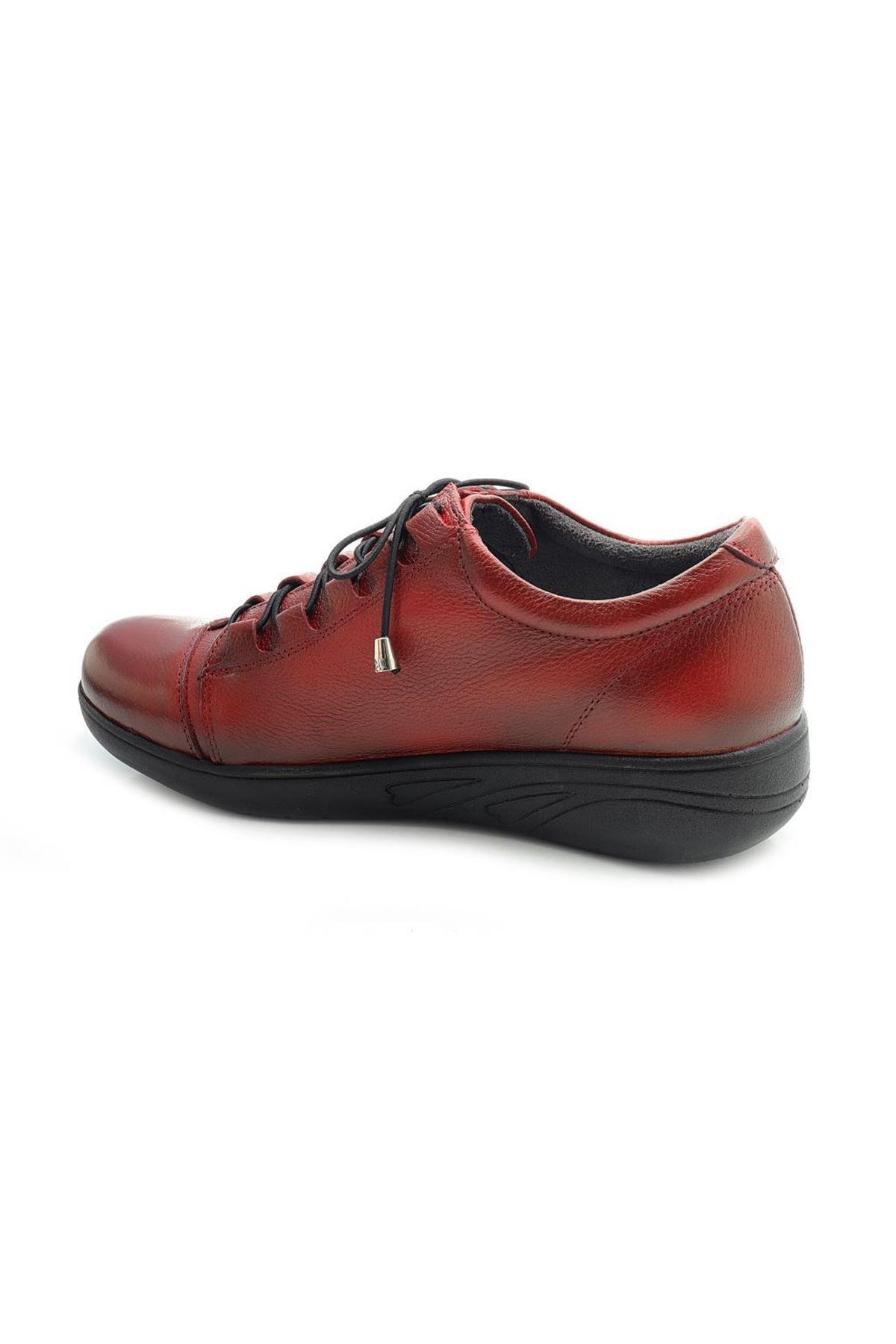 Diego Carlotti 120 Ortopedik Hakiki Deri Günlük Bayan Ayakkabı
