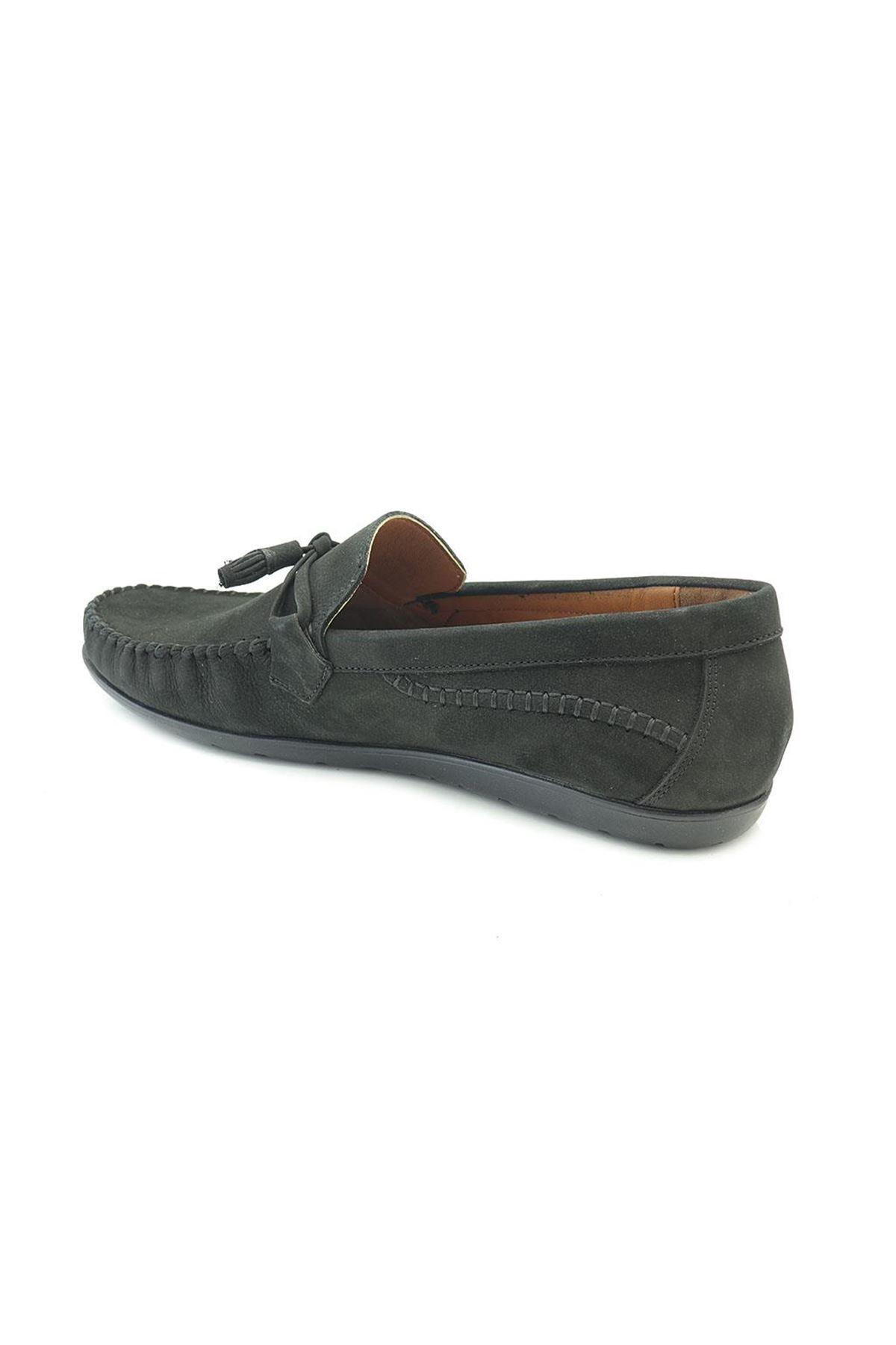 Ayakkabıvakti A505 Corcik Loafer Hakiki Deri Püsküllü Erkek Ayakkabı